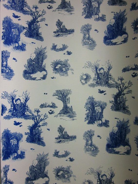 Wallpaper Toile De Jouy Martha Verschaffel Flickr