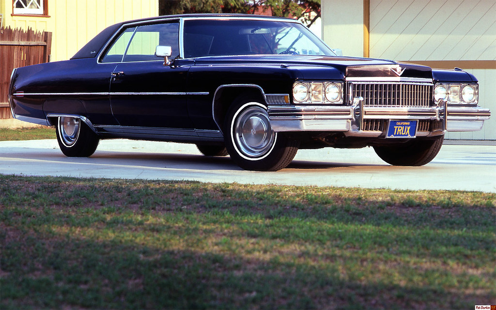 1973 Cadillac Coupe DeVille - black - fvr | My first ...