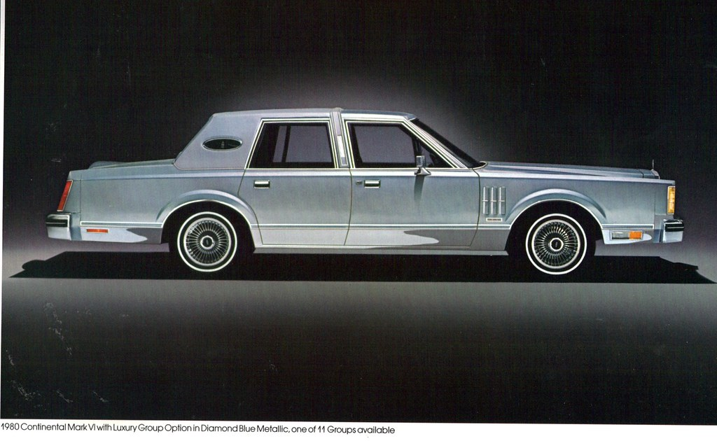1980 lincoln continental mark vi 4 door sedan coconv flickr. Black Bedroom Furniture Sets. Home Design Ideas