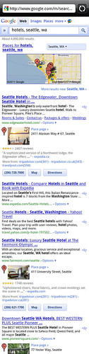 Android Phone Screen Grab of Google Search Results | by Si1very