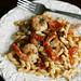 Shrimp, Basil and Tomato Pasta with Manchego