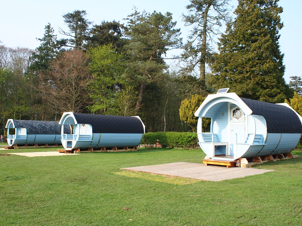 Camping Pods @ Hoddom Castle Campsite | How awesome are ...