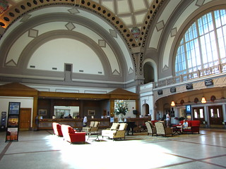 Lobby of Chattanooga Choo Choo hotel | by London looks