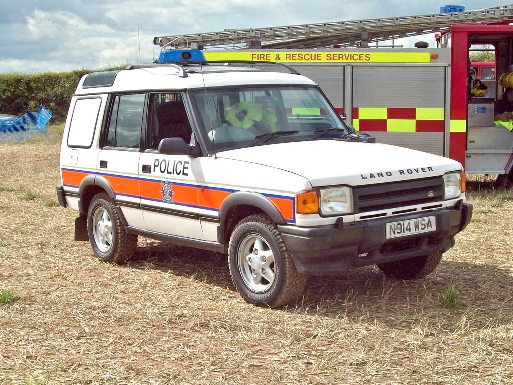 71 Land Rover Discovery Tdi Series 1 Police 1989 98