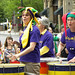 Women's Drum Center at the Twin Cities Pride Parade 2011