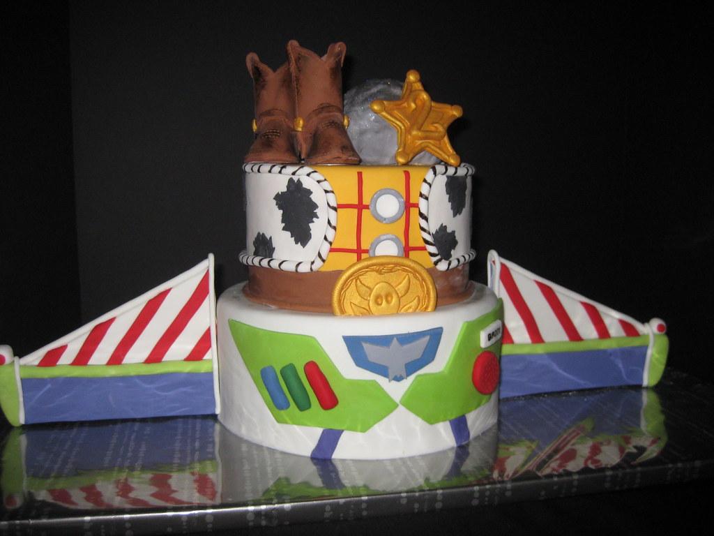 Woody And Buzz Lightyear Birthday Cakes