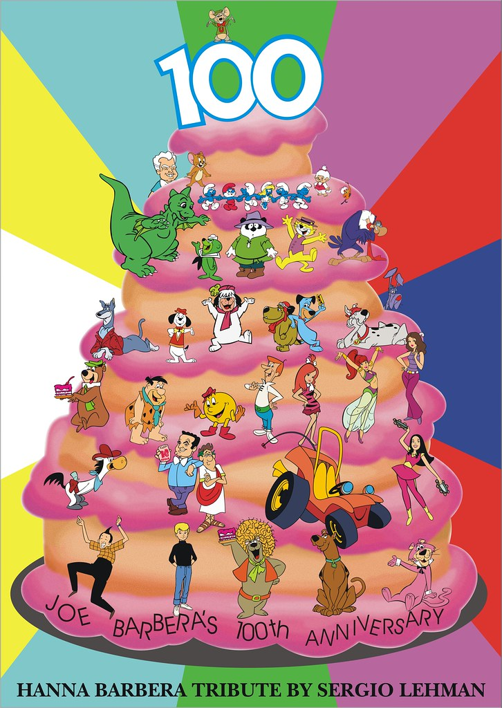 Hanna Barbera S Joe Barbera S 100th Birthday Tribute Flickr