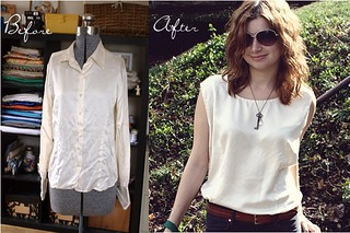 silk shirt restyle | by alli_lucy