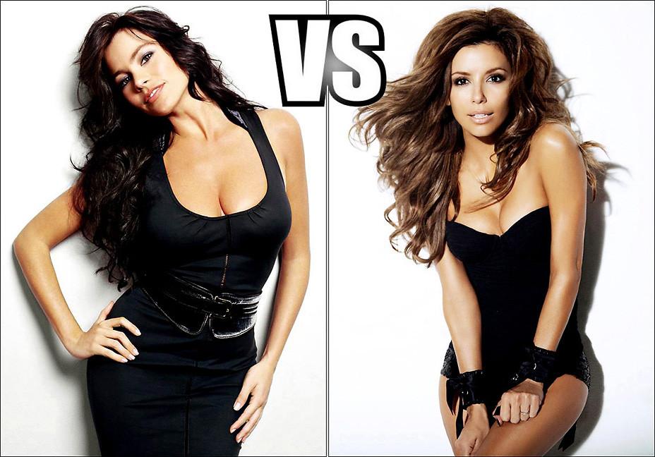 Sofia Vergara vs Eva Longoria | Sofia Vergara vs Eva Longori ...