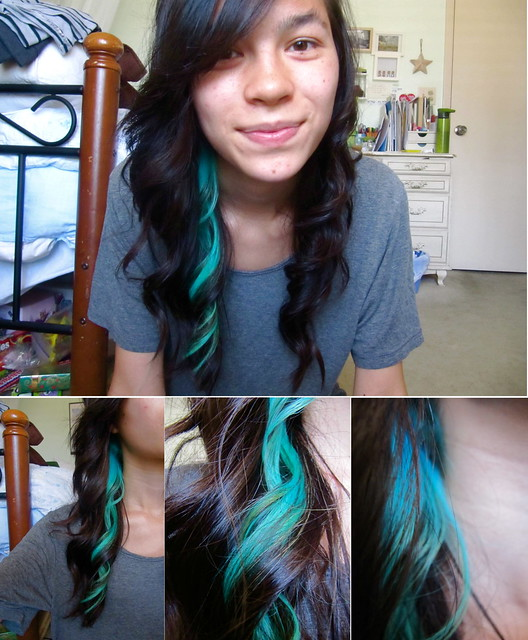 Turquoise Hair Creating4him Blogspot Com 2011 04