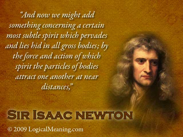 isaac newton apple quotes
