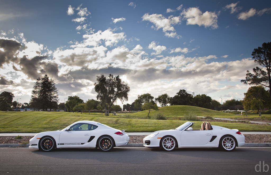 Porsche Cayman R Vs Boxster Spyder David Bush Flickr