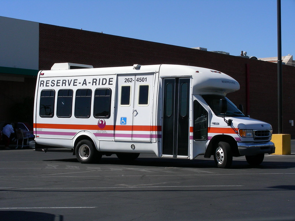 dial a ride city of phoenix reserve a ride bus photo take flickr. Black Bedroom Furniture Sets. Home Design Ideas