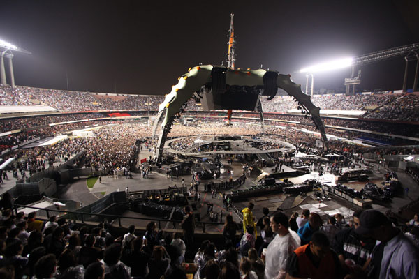 U2 @ Estádio do Morumbi (foto: Portal Focka via Creative Commons/Flickr)