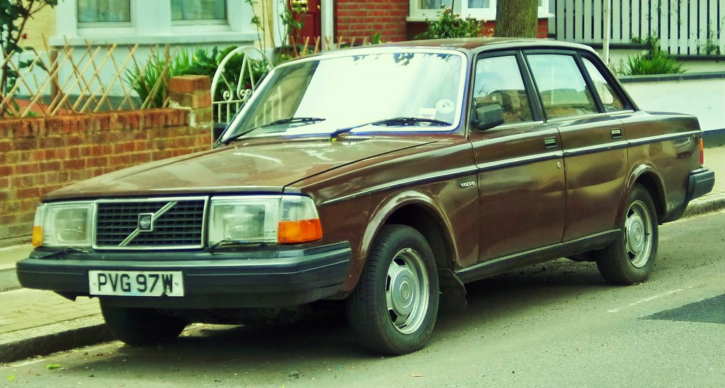 1980 Volvo 244 DL Saloon. | Interestingly, this car was plac… | Flickr