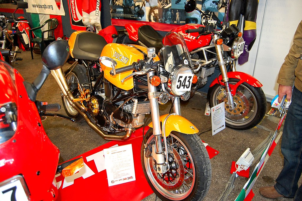 Ducati Retro Cafe Racer