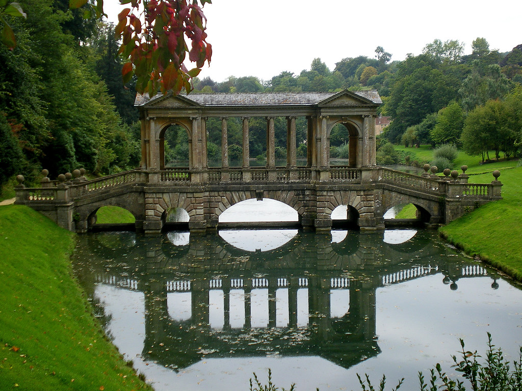 Wonderful Prior Park Bath Palladian Bridge | The Palladian Bridge Has U2026 | Flickr Design