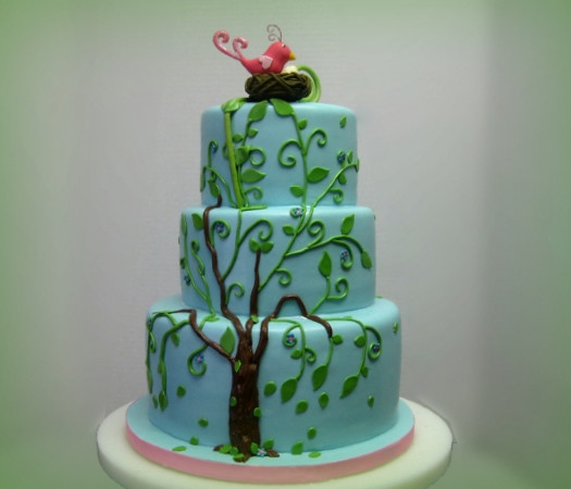 Family Tree Baby Shower Cake | pastryqueen62 | Flickr