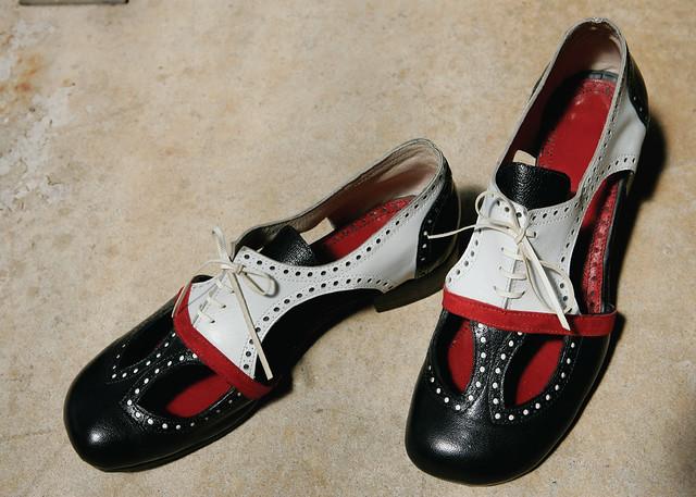 Der richtige Schuh zum Swing Dance