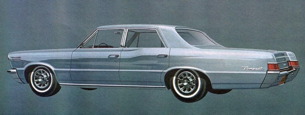 1965 Pontiac Tempest 4 Door Sedan Coconv Flickr