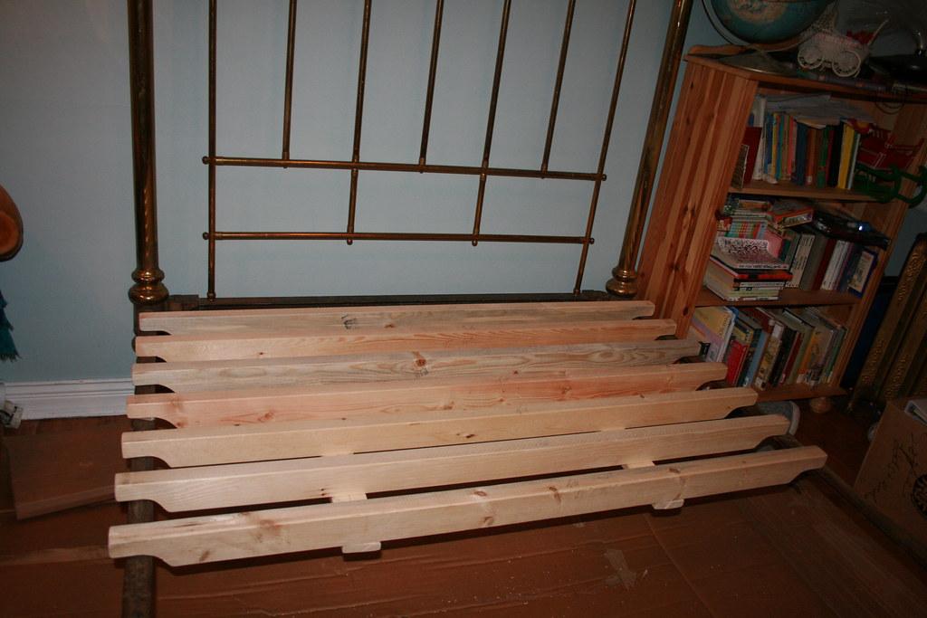 White Platform Bed With Storage Queen