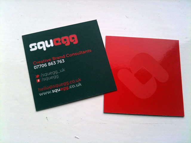 Squegg Generic Business Cards : Flickr - Photo Sharing!