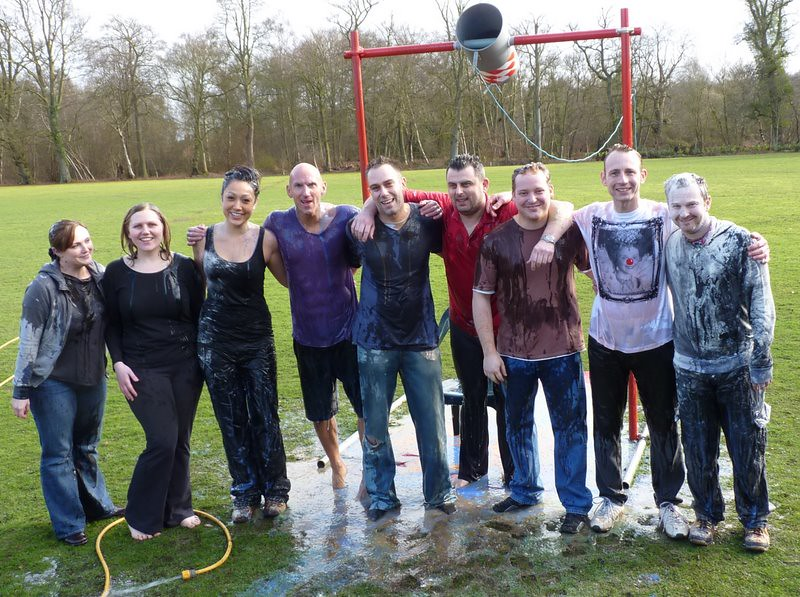 Gunge Tank Staff At Adrian Flux Insurance Voted For