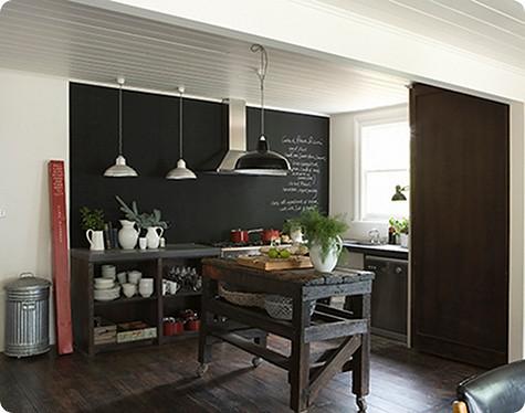 Lynda gardener eclectic vintage industrial modern kitchen flickr - Vintage art for your modern kitchen ...