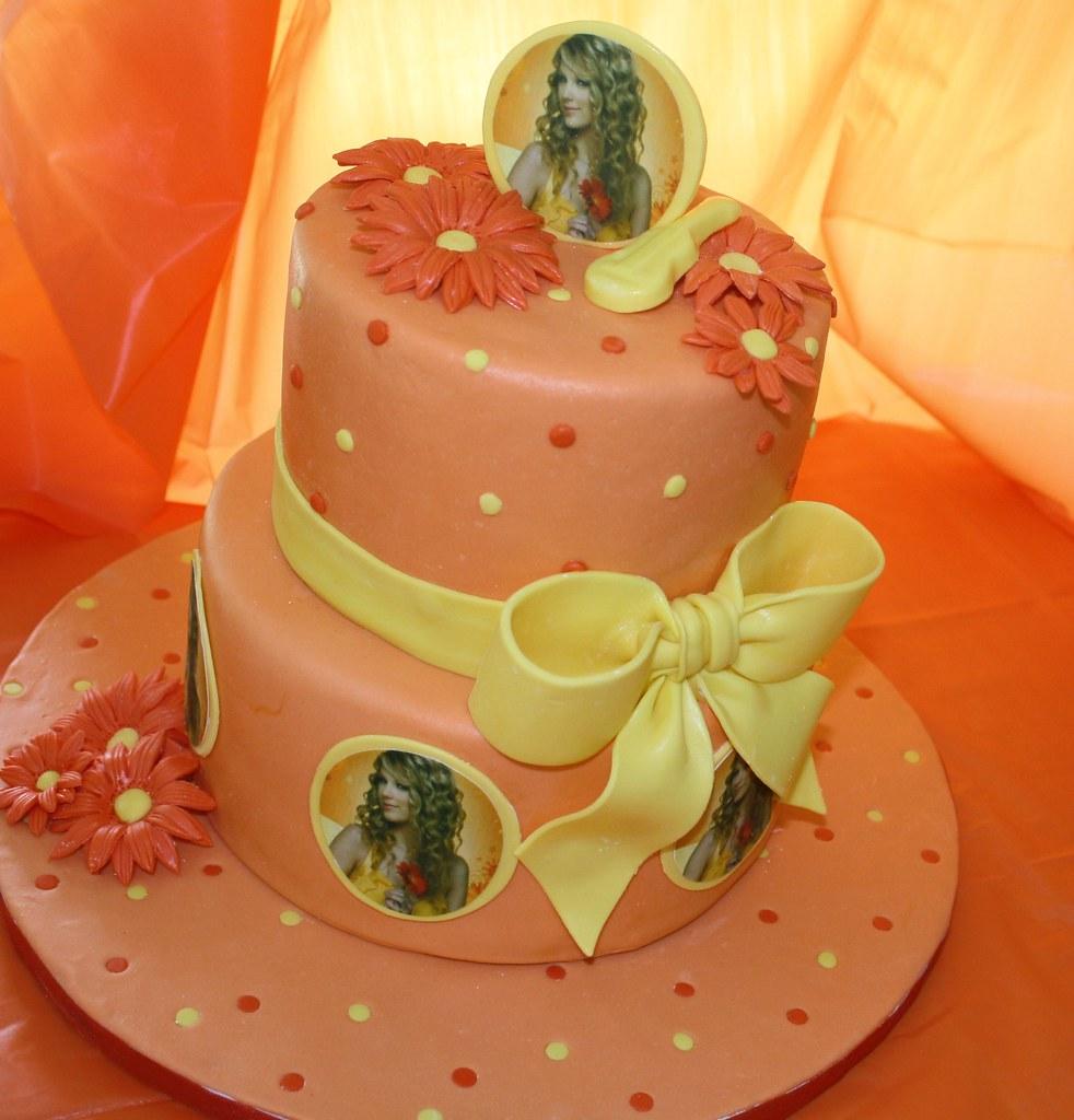 Taylor Swift Birthday Cake Decorations