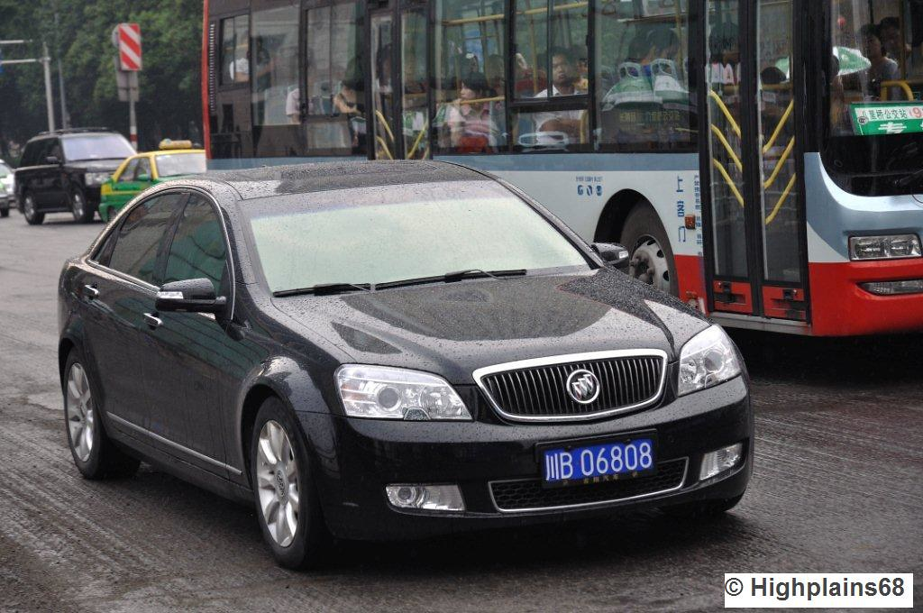 Buick Park Lane By Holden Sold In China As Buick S Park