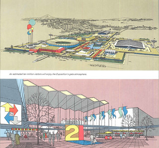 World's Fair concept drawings, 1959 | by Seattle Municipal Archives