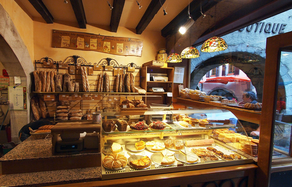 French Bakery In Annecy France Johnpickenphoto Flickr