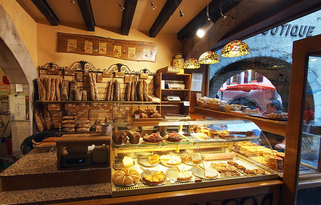 French Bakery In Annecy France Flickr Photo Sharing