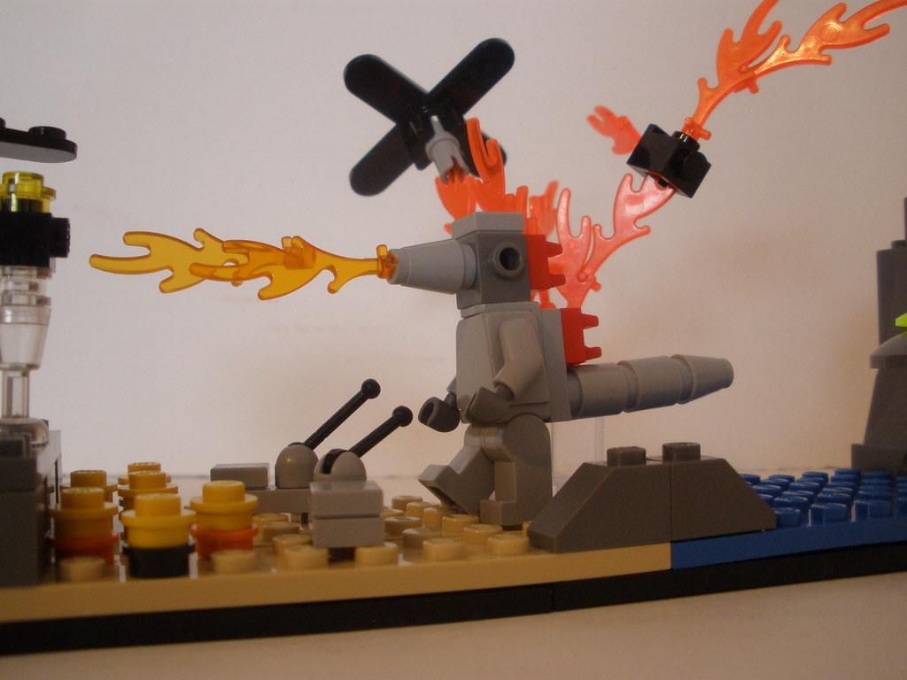 how to build lego godzilla
