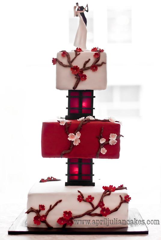 Cherry Blossom Wedding Cake Prices