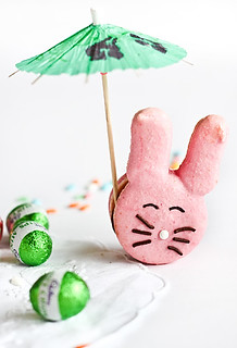 Easter Bunny Macarons | by raspberri cupcakes