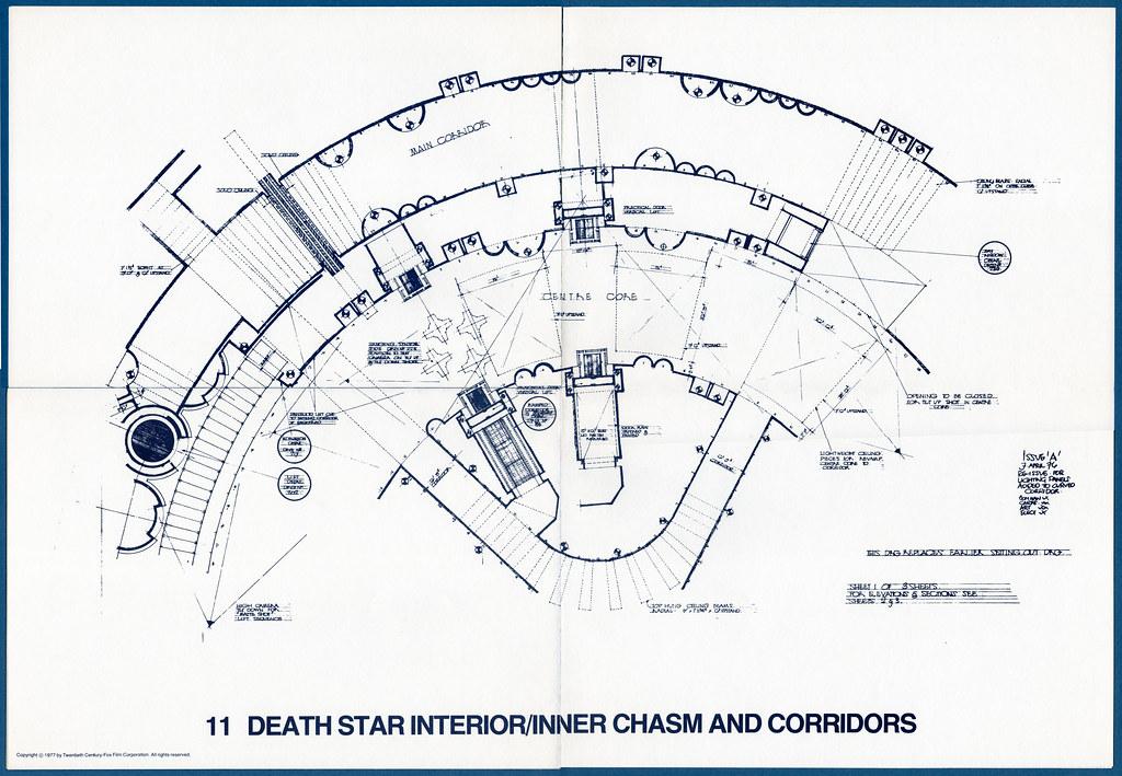 Star Wars Blueprints Death Star InteriorInner Chasm Flickr - Death star blueprints