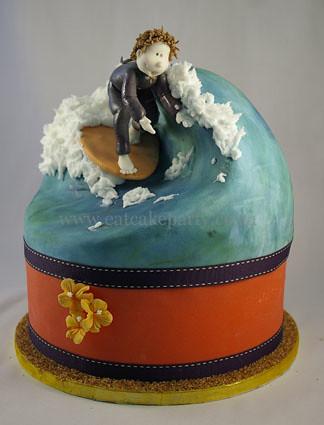 Tobie S Surf Cake My Hubby Had His Birthday While Away