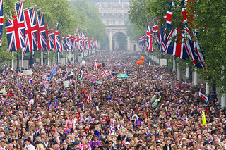 Crowds in the Mall | by The British Monarchy