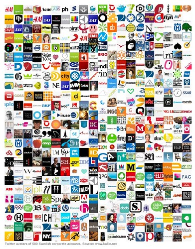 Twitter avatars and logos of brands | Flickr - Photo Sharing!