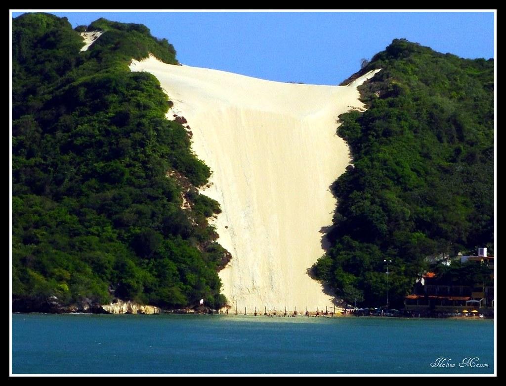 Morro do Careca | Praia de Ponta Negra mais famosa de