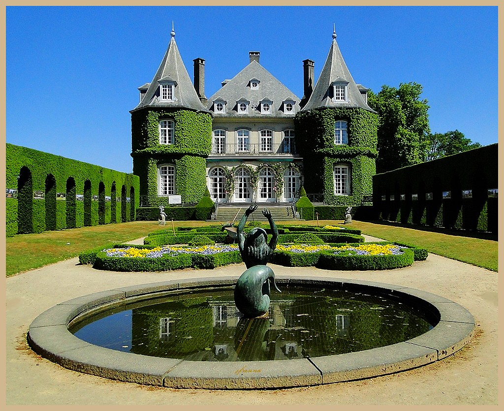 Chateau De La Hulpe Sur Le Domaine Solvay 2 The Castle