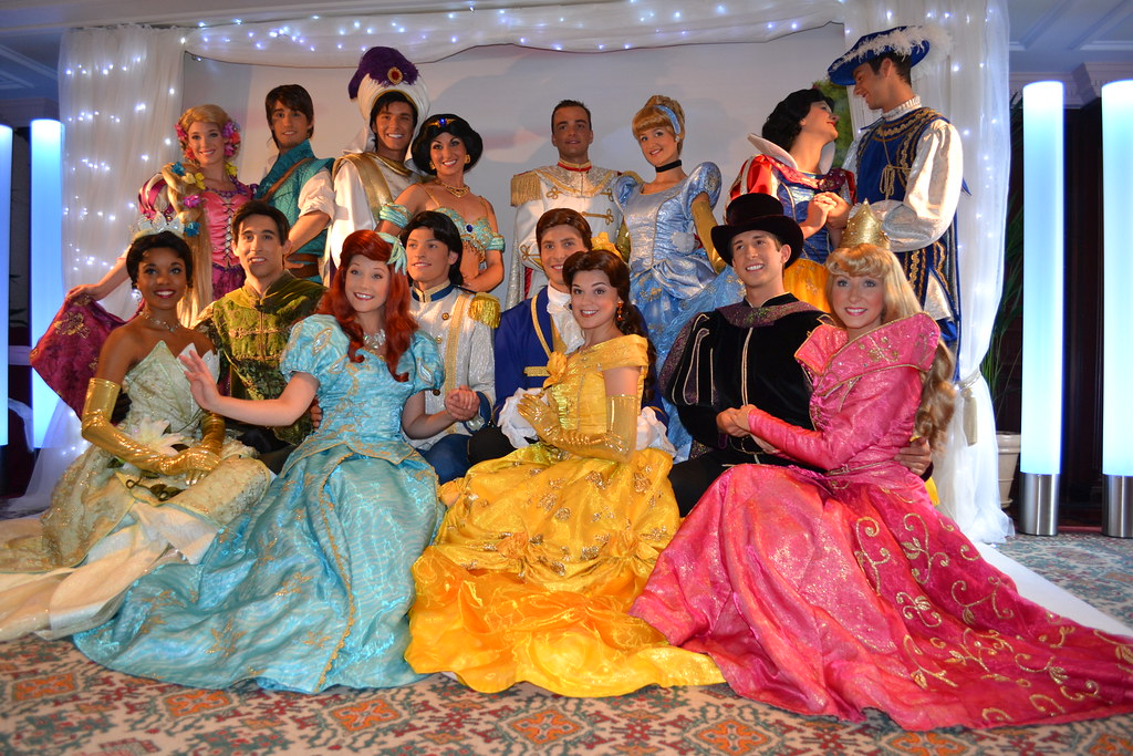 Meeting the Disney Princesses and Princes at the Princess ...