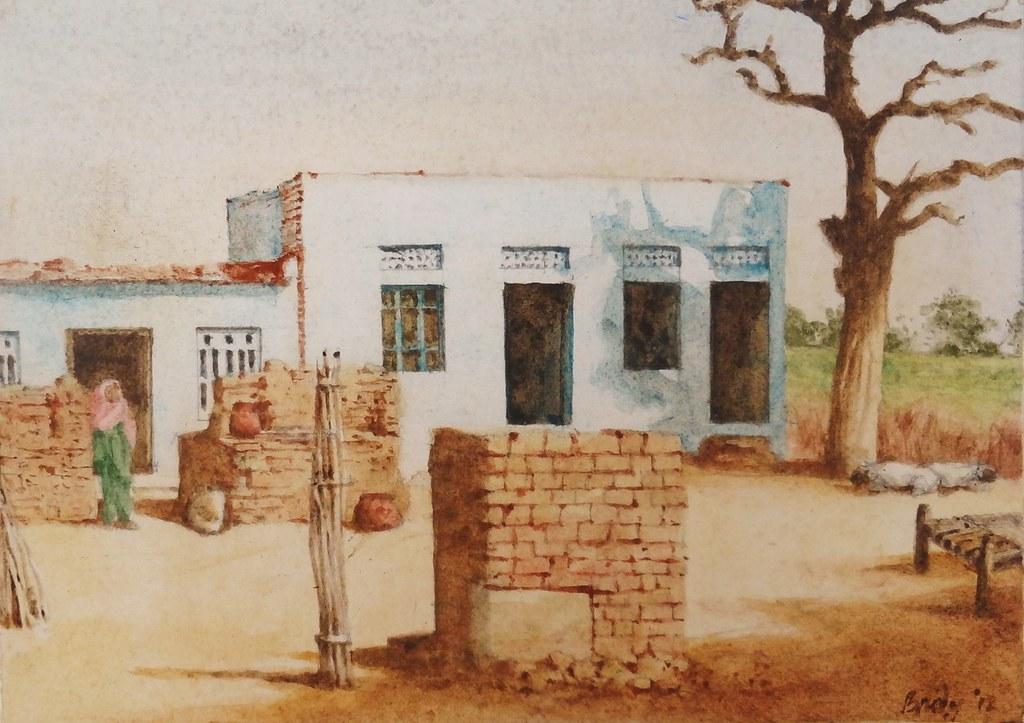 Rajasthan Kitchen Decorated