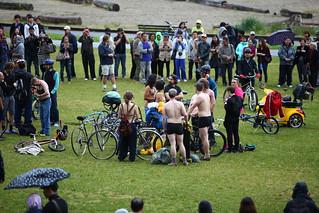 World Naked Bike Ride 2014