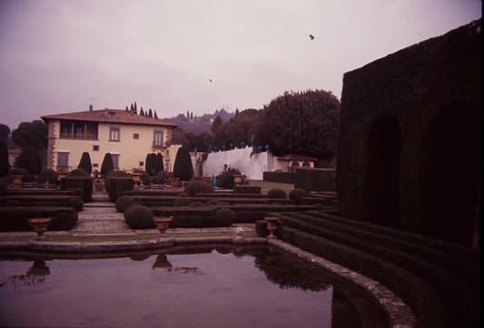Parterre Firenze Villa Fascismo