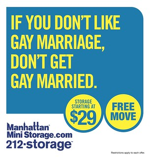 If you don't like gay marriage, don't get gay married. | by ManhattanMini
