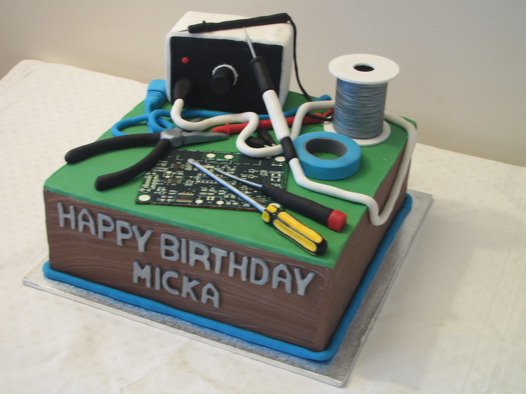 Birthday Geek Cake