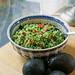 avocado basil rice
