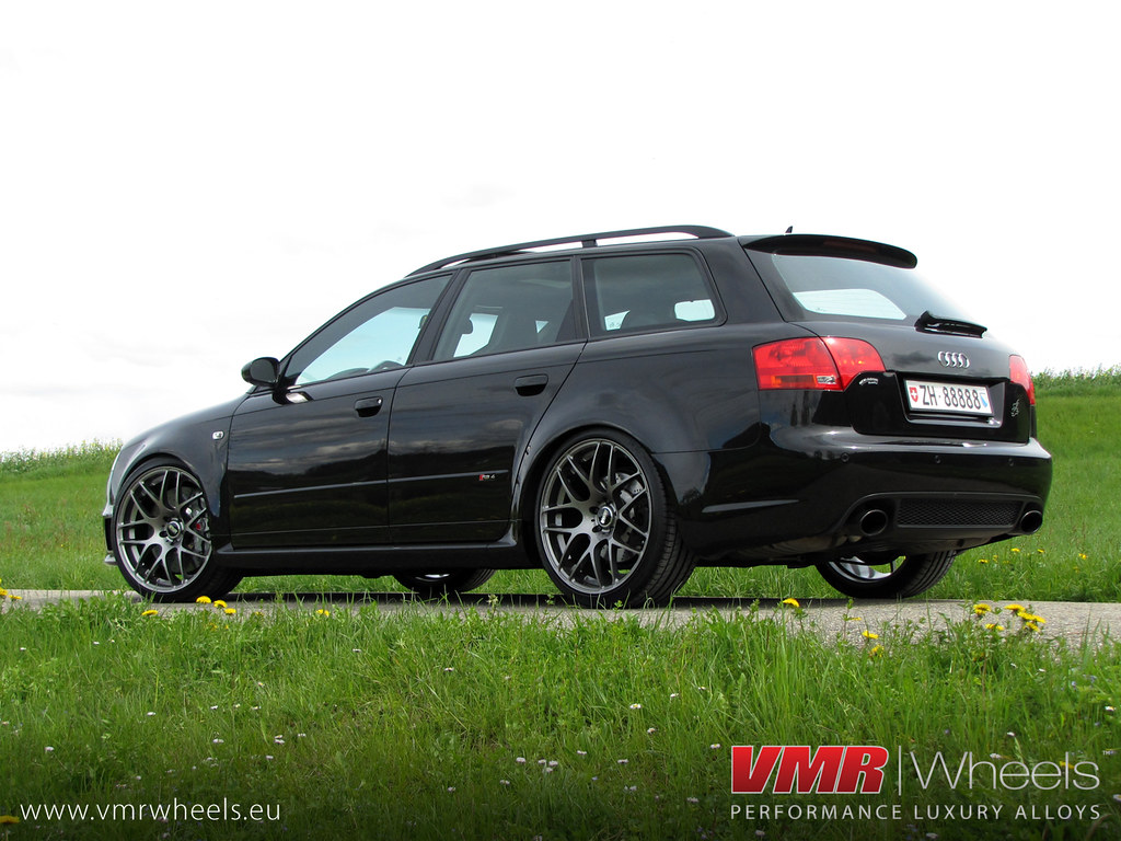Vmr Wheels V710 Gunmetal Audi Rs4 Vmr Wheels V710